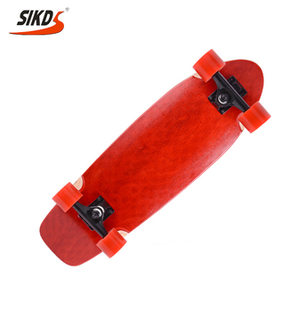 Wholesale maple fish oem custom skateboard dye color layers OEM service