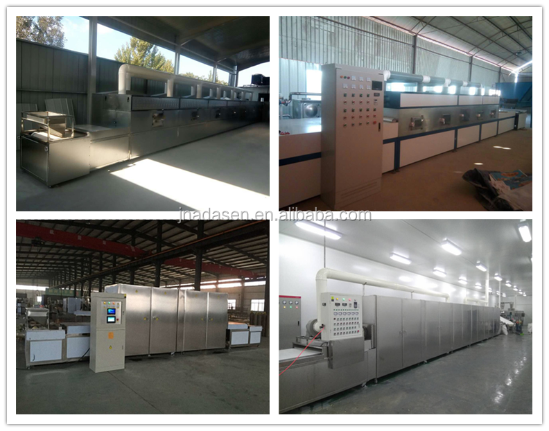 New products conveyor belt microwave drying machine for honeycomb ceramics