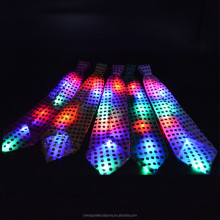 Sequins LED Necktie Light Up Neck Tie Flashing Blinking Party