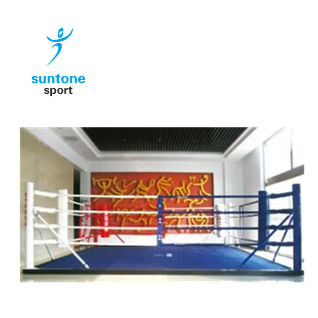 Professional Standard floor-style Thai boxing ring