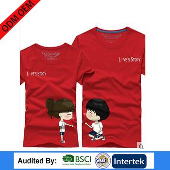 f53dd8e62b19 lovely couple shirts design sun wear t-shirt Chinese Clothing unisex t-shirt  Manufacturers
