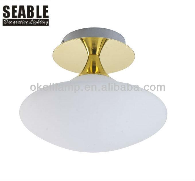 Hot Sale Modern Design Single Glass Ceiling Light For Bedroom Or ...