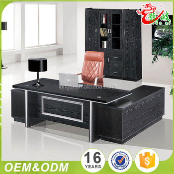 Durable Modern Design High Quality Wooden Boss Latest Executive Desk Office Furniture Table Designs
