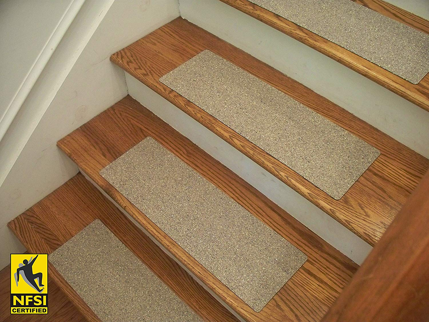 Get Quotations Essential Vinyl Stair Treads Nfsi Certified High Traction Surface Slip Resistant L