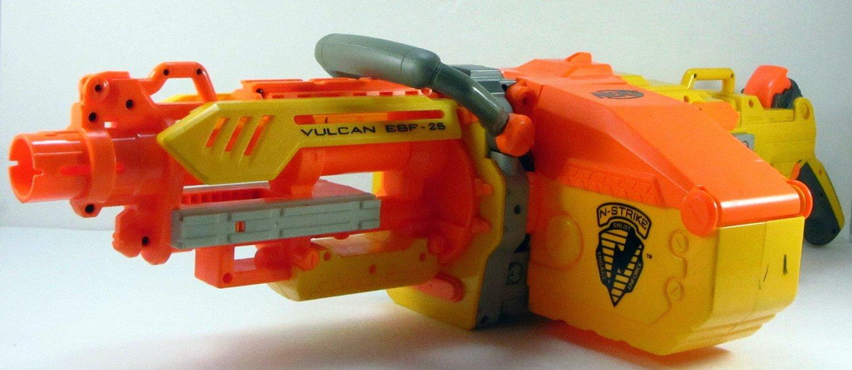 2006 Nerf N-Strike Vulcan EBF-25 Dart Blaster (Loose)