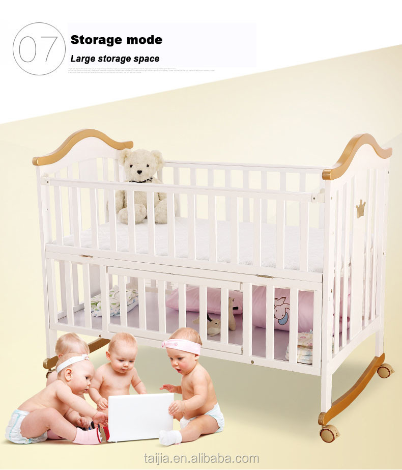 Safety standard modern nature birch solid wood childrens bedroom furniture