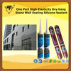 One Part High Elasticity Dry-hang Stone Wall Sealing Silicone Sealant