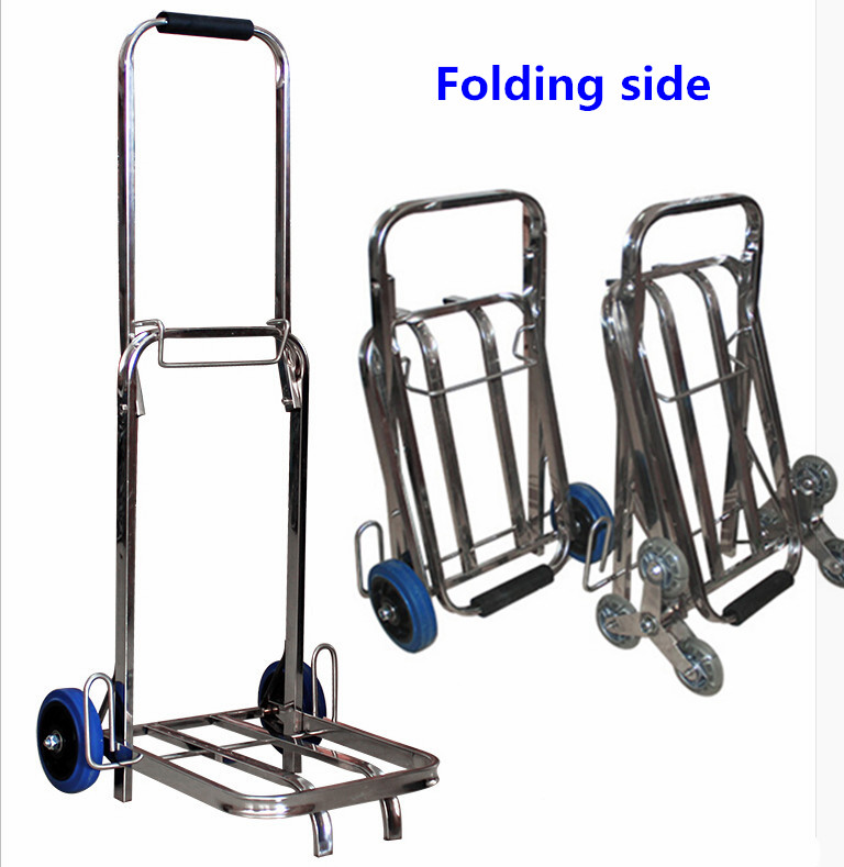 WBD Factory made cheap price industrial aluminium hand trolley size