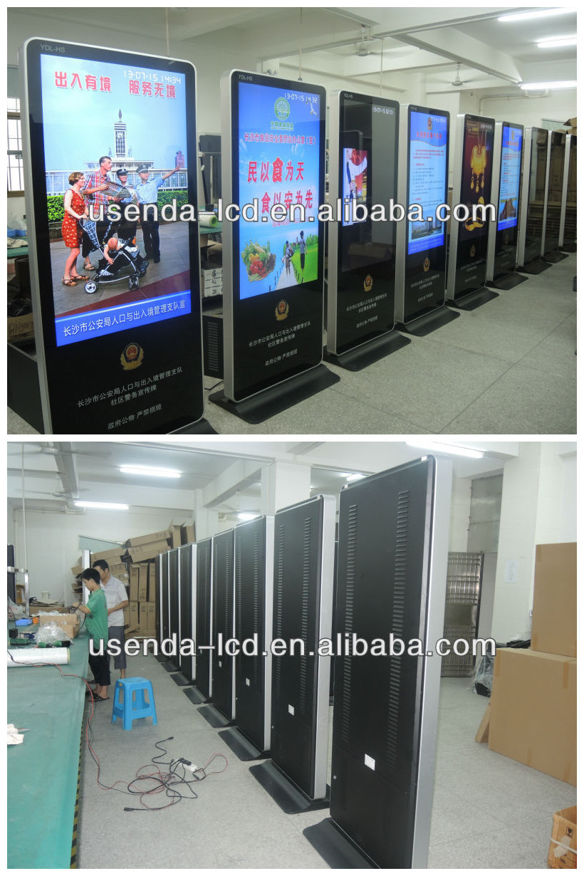 42inch Free Standing Led Advertising Digital Display Board