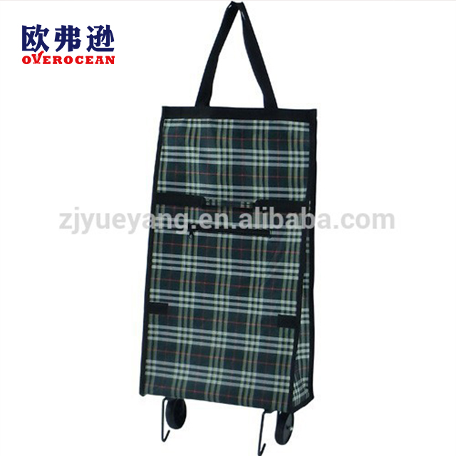 YY-24X07 Wheel Bags travel light foldable bag custom shopping bags