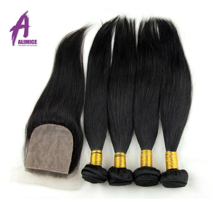 Free Sample unprocessed Factory Direct Wholesale natural remy extensions raw indian virgin temple hair Weft in india