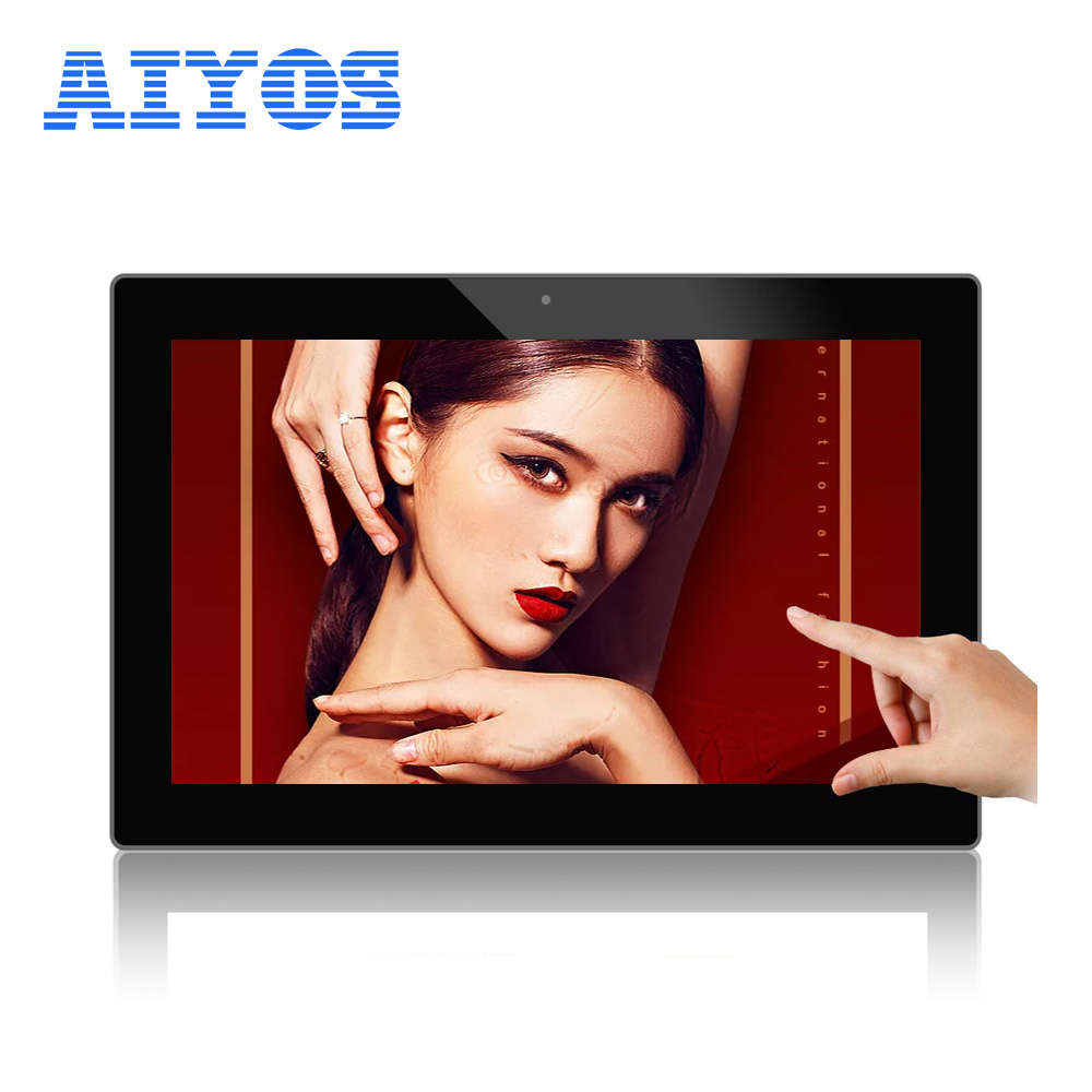 "Aiyos 13.3 ""POP POS LCD Touch Screen Android แท็บเล็ต"
