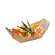 FDA approved eco friendly wooden bamboo disposable wooden boat serving plate