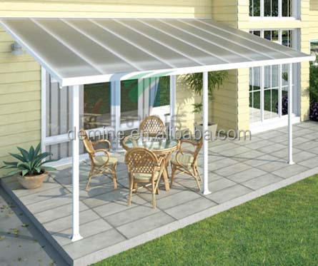 4/6/8/10/12mm Lexan polycarbonate patio roof panel/10 years warranty
