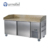 Pizza Refrigerator - Furnotel Stainless Steel Commercial Pizza Prep Table Refrigerator with Marble Work Top