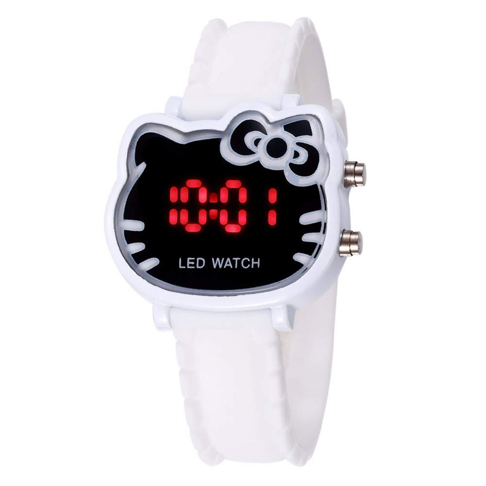 4212f8ed211 Get Quotations · Hello Kitty Brand LED Children Watches