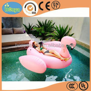 white/pink/black inflatable swimming looating island inflatable floating pool