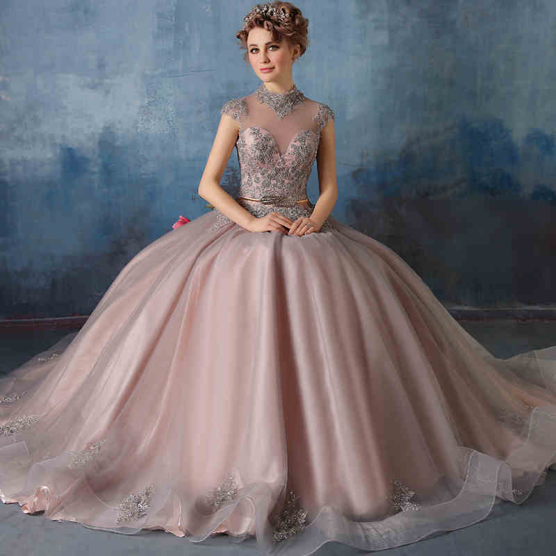 CHEAP Vintage Long Wedding Ball Gown Evening Formal Party Prom Bridesmaid Dress