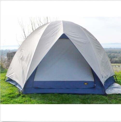 Camp Dome 4 Tent Aluminum Poles Plus Custom Ground Cloth Camping Shelter