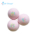 OEM Private label supplied ball shape colorful fizzy bath bombs