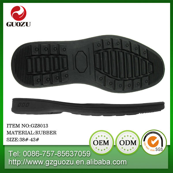 men boots rubber sheets soles for making shoes