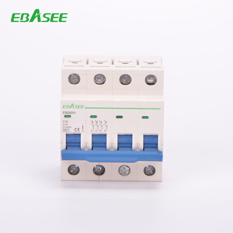 DIN Rail Mounted Shipping free sample circuit breaker direct from china manufacture