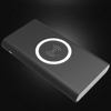 2017 New Selling QI Series Standard Wireless Charger Dual USB Mobile Power Bank 10000mAh