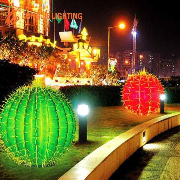 Artificial Lighted Cactus Buy Cactusplastic Cactuscactus L