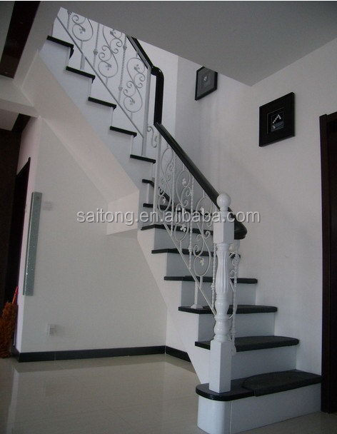 Newest Professional Exterior Wrought Iron Stair Railings