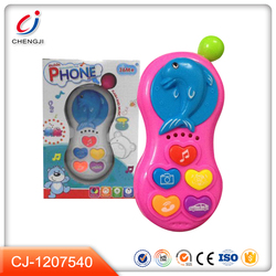 Good quality funny toy mobile phone for kids mini plastic toy