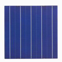 The best price high efficiency 5BB Polycrytalline Silicon solar cell