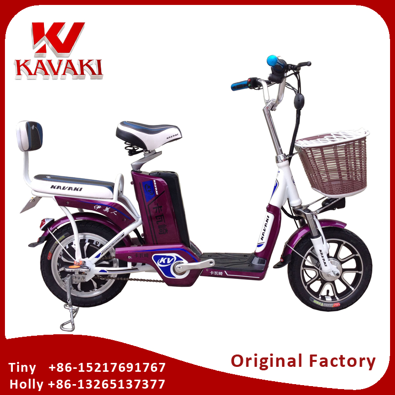 Kavaki E-Bike Factory Outlet 2 Wheels Electric Bicycle With Lithium Battery MSDS Certificate