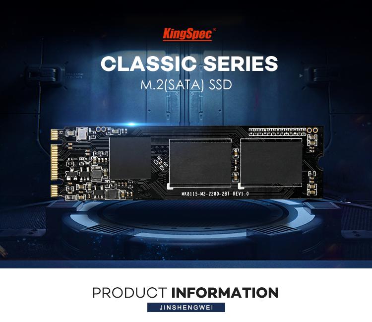 KingSpec SATA3 M.2 SATA 512GB Ổ Cứng Thể Rắn Ổ Cứng Nội Bộ M2 SSD 2280 Cho Bo Mạch Chủ Máy Tính Xách Tay
