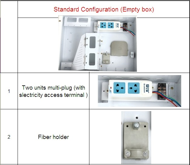 Wall mounting distribution Network multimedia information box