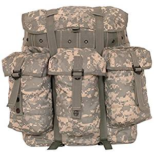 Ultimate Arms Gear ACU Terrain Army Digital Camo Camouflage Medium A.L.I.C.E. Field Pack Backpack