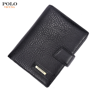 2017 Custom Design Multi-function Casual PU Leather Coin Purse Men's Rfid Wallet