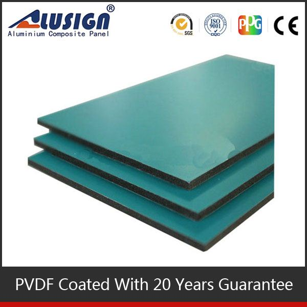 Alusign famous brand good quality acm manufacturer aluminium panel office partition