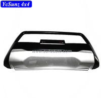 Double color Front bumper ABS head bumper For HILUX REVO 2016 Accessories Plastic kit