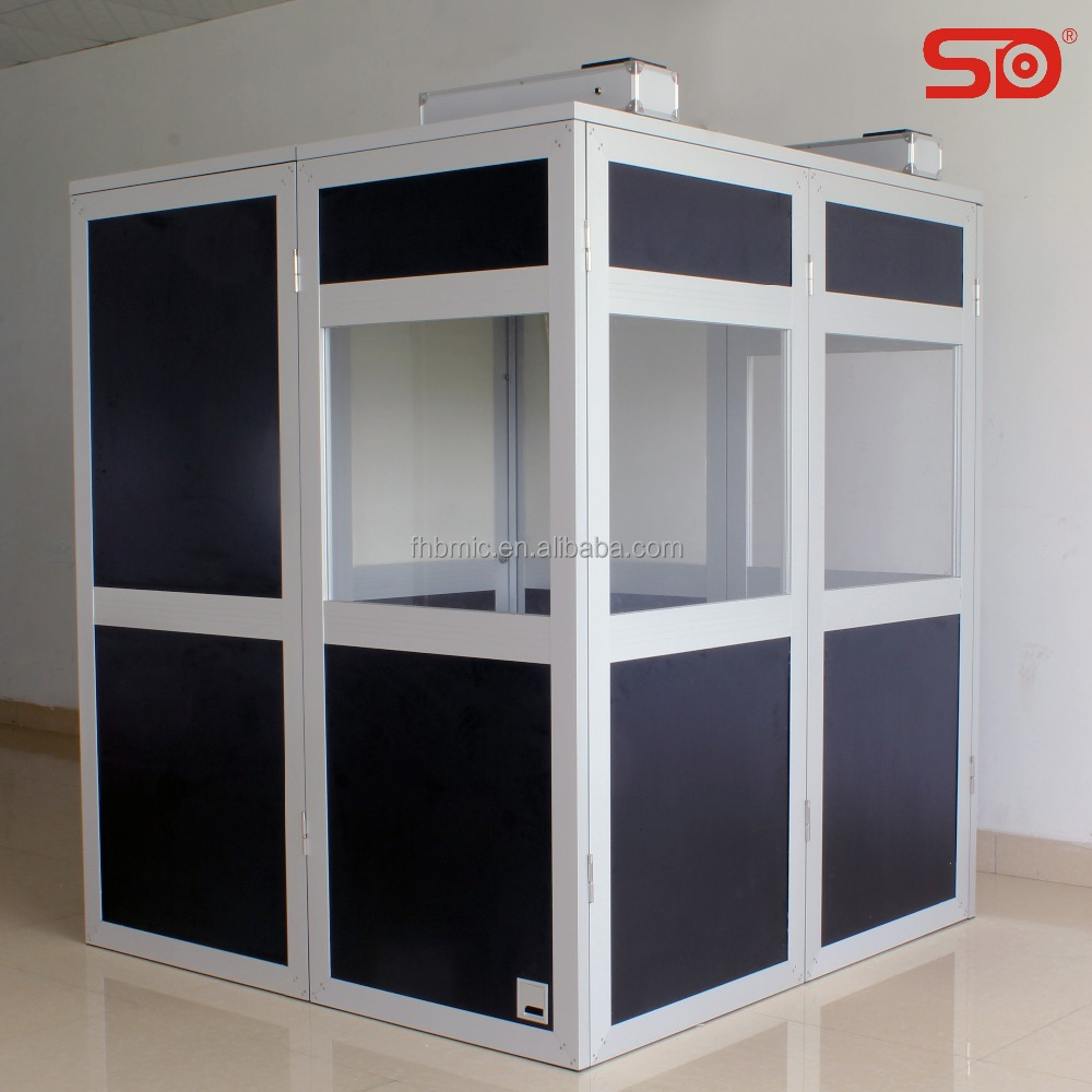 SINGDEN portable mobile translation booth for international meeting interpreter booth SIB003