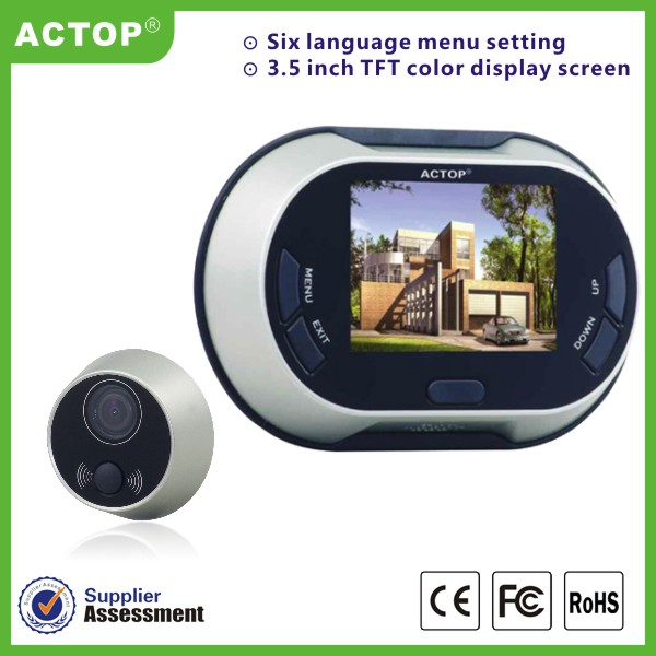 Hot Selling 3.5inch Digital Door Peephole Viewer with competitive price
