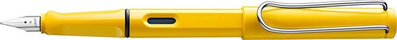 Lamy Unisex Safari Steel Nib Plastic Fountain Pen - Yellow