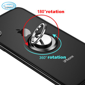 Custom Plastic Metal Hand Grip Finger Phone Ring Holder Stand For Cell Mobile Phone