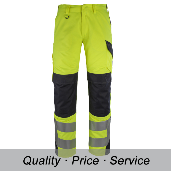 100% Polyester Reflective Safety Workwear Pants hi vis