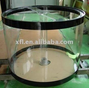 Custom Big Cylinder Acrylic Aquarium,Round Fish Tank