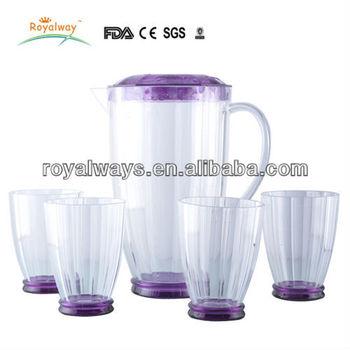2.4l Plastic Water Jug Set