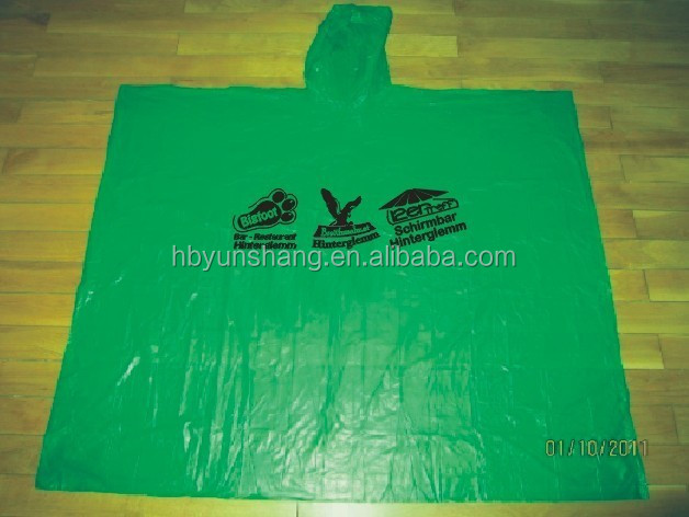 Adult EVA & PE new stock rain poncho, wholesales rain ponchofor promotional gift,travel,surfing,out door game