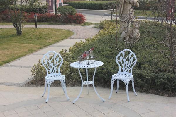 Tulipe Design Ensemble De Patio Meubles De Jardin En Fonte D\'aluminium  Blanc - Buy Mobilier De Jardin En Fonte D\'aluminium Blanc,Mobilier De  Jardin ...