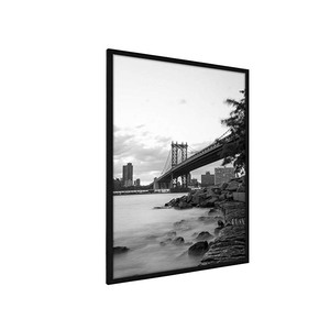 24x36 large wooden Black Photo Frame with Plexi-Glass Wall Poster Frame Collection