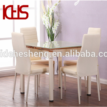China Manufacturers Wholesale Tempered Glass Dining Table Set Cheap ...