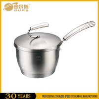 16/18cm Durable and Safety SS304 Stainless Steel Casserole